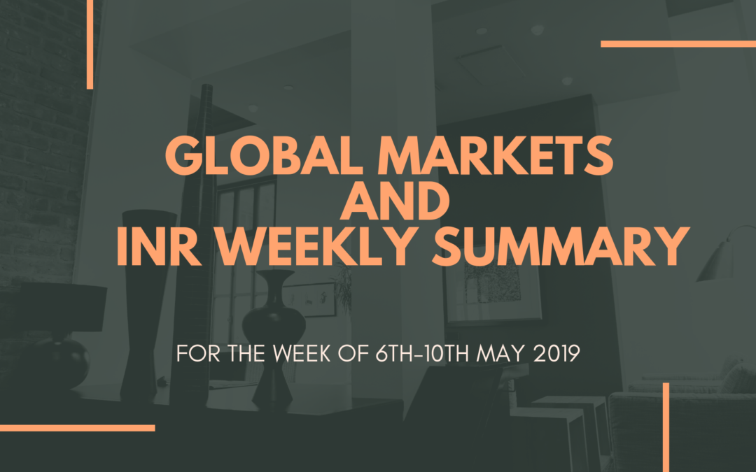 GLOBAL MARKETS AND INR WEEKLY SUMMARY (6th -10th May 2019)