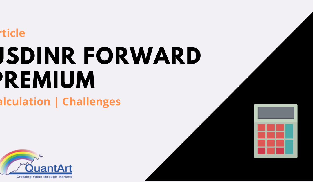 How to calculate USD INR Forward Premium & Challenges